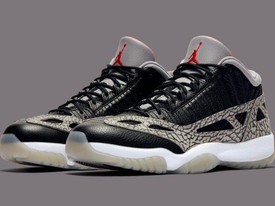 Air Jordan 11 Low I.E. ''Black Cement'' - 919712-006
