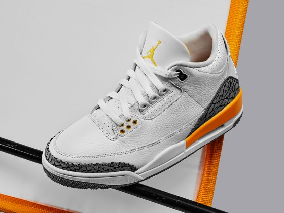 Air Jordan 3 WMNS ''Laser Orange'' - CK9246-108