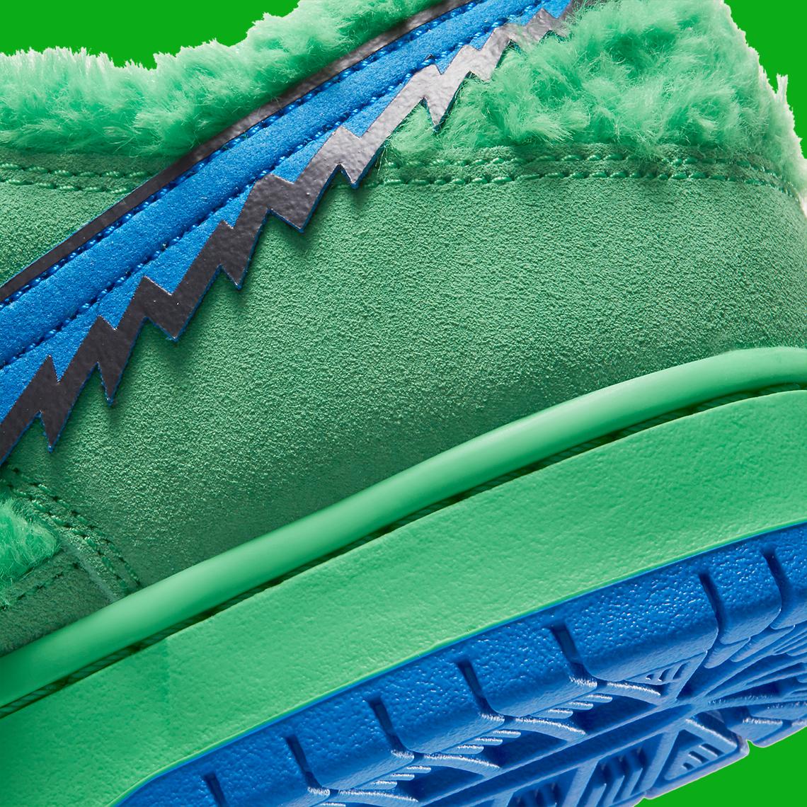Grateful Dead x Nike SB Dunk ''Green Bear'' - CJ5378-300
