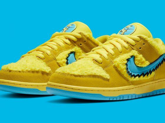 Grateful Dead x Nike SB Dunk ''Opti Yellow'' - CJ5378-700