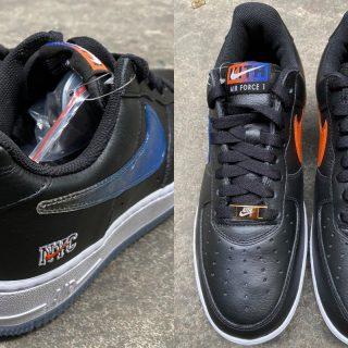 KITH x Nike Air Force 1 ''NYC'' ''Black'' - CZ7928-001