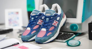 New BalanceM992NT ''Blue/White-Rose'' - Made In USA