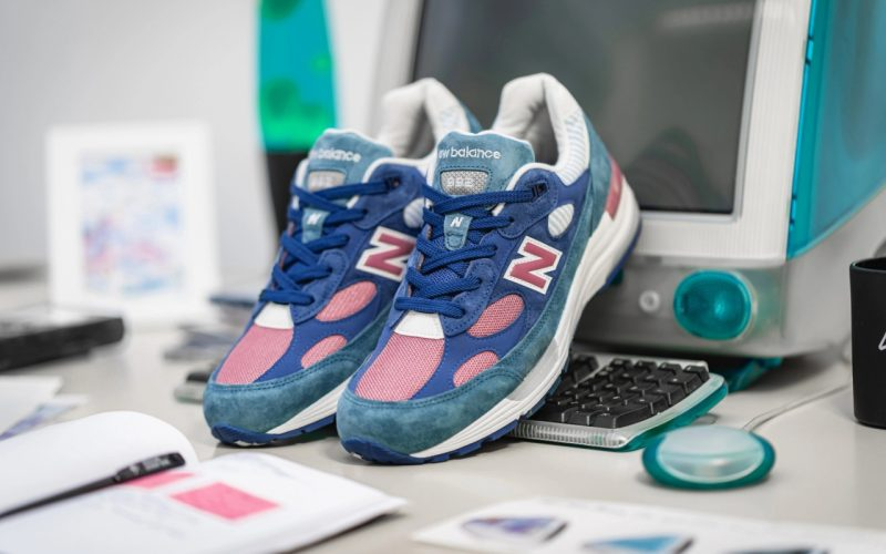 New Balance M992NT ''Blue/White-Rose'' - Made In USA