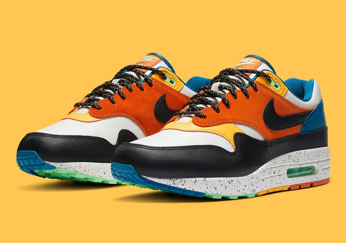 Nike Air Max 1 ''Multi Mix'' CZ8140 001 Sneaker Style