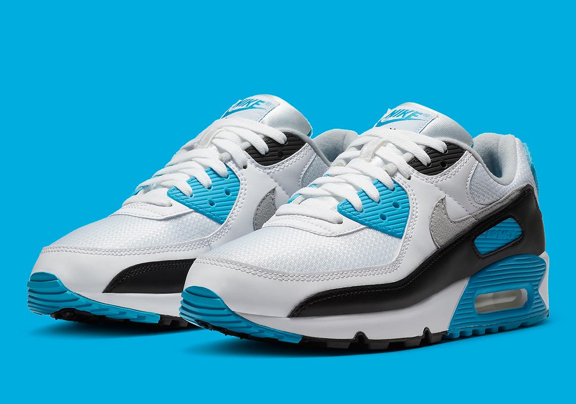 Nike Air Max 90 OG ''Laser Blue'' - CJ6779-100