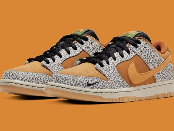 Nike SB Dunk Low Pro ''Safari'' - CD2563-002