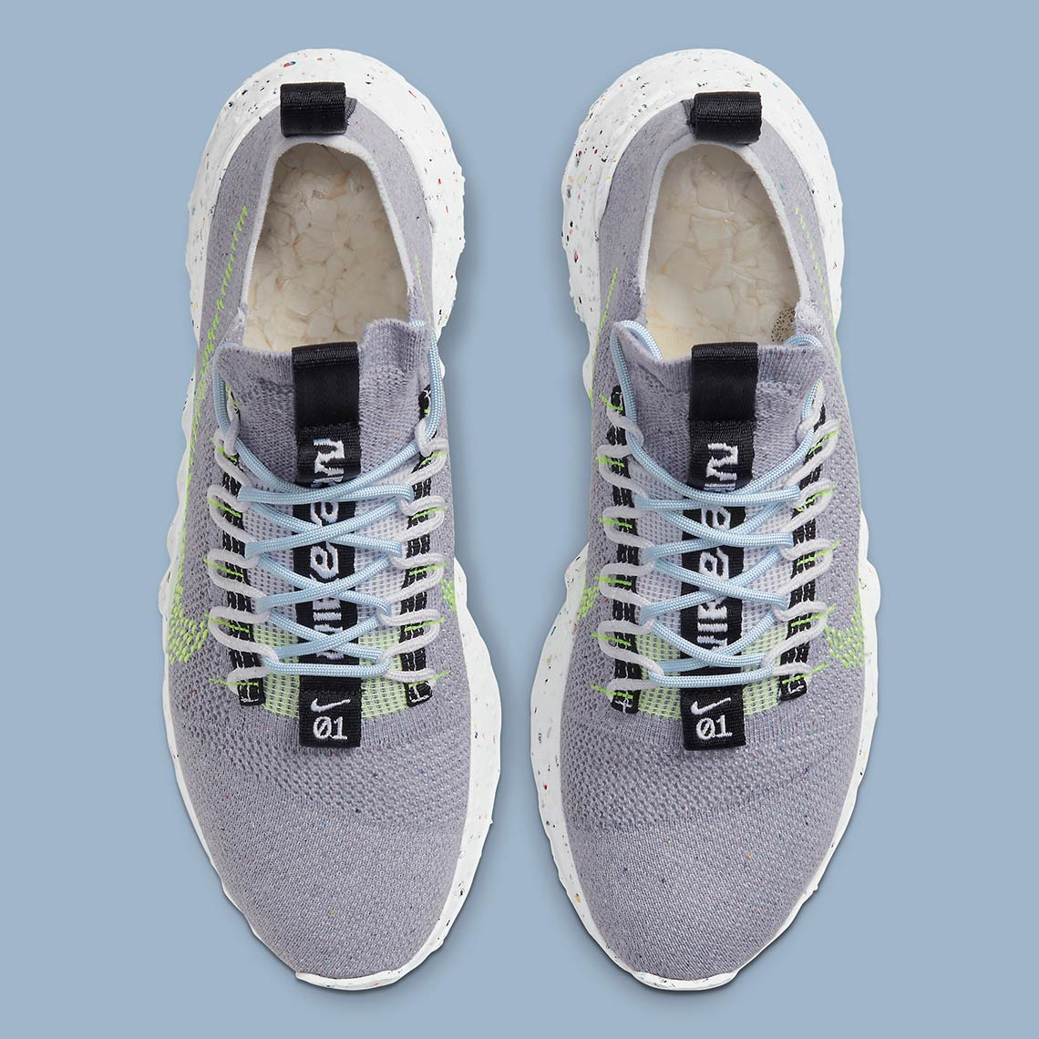 Nike Space Hippie 01 ''Grey/Volt'' - CQ3986-002