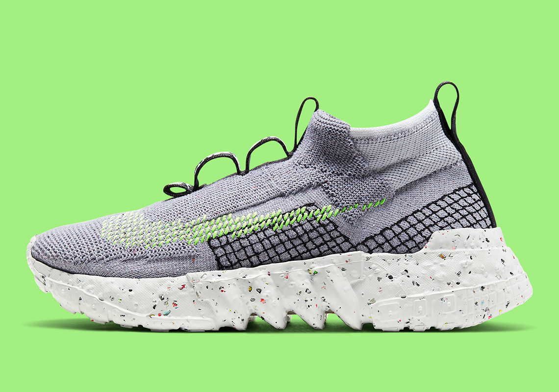 Nike Space Hippie 02 ''Grey/Volt'' - CQ3988-002