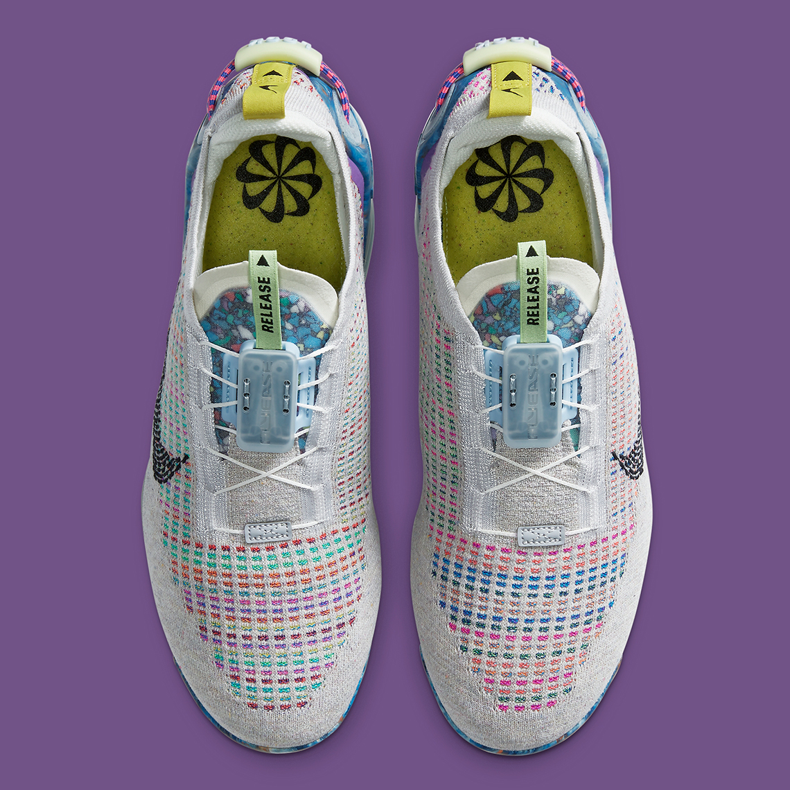 Nike VaporMax 2020 ''Pure Platinum/Muti-Color/Black'' - CJ6740-001