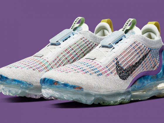 Nike VaporMax 2020 ''Pure Platinum/Muti-Color/Black'' - CJ6740-001