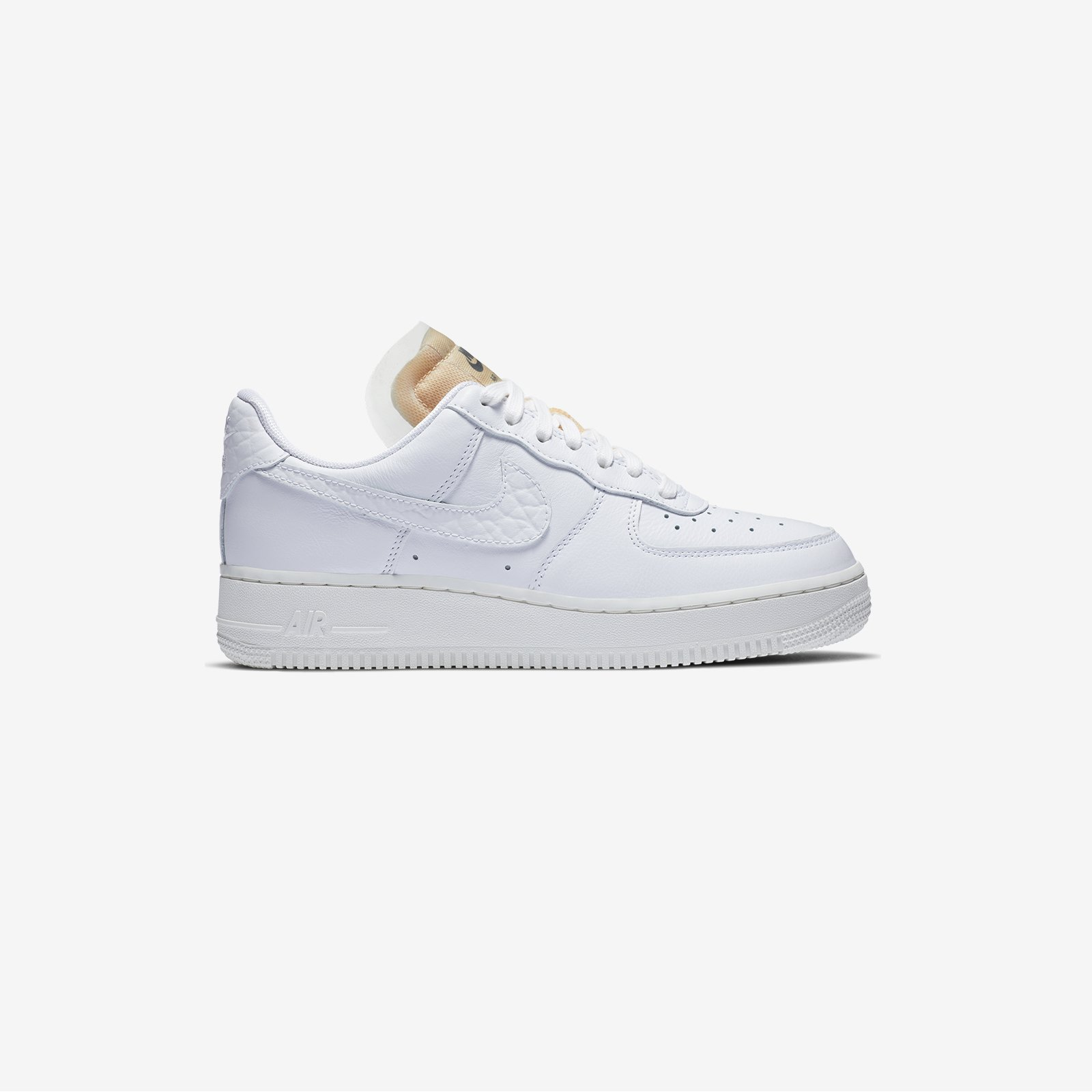 2020 Nike Air Force 1 Low 07 LX Bling White Summit White