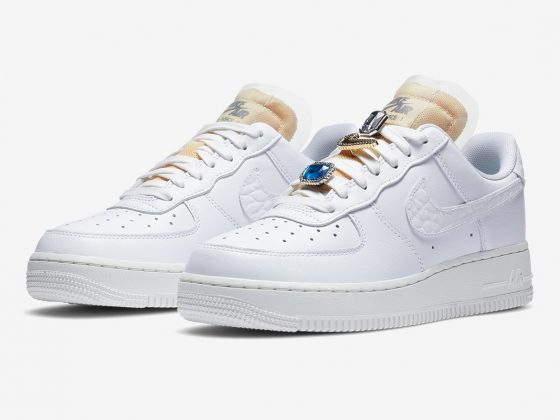 Nike WMNS Air Force 1 '07 LX ''Bling'' - ''White Onyx'' - CZ8101-100