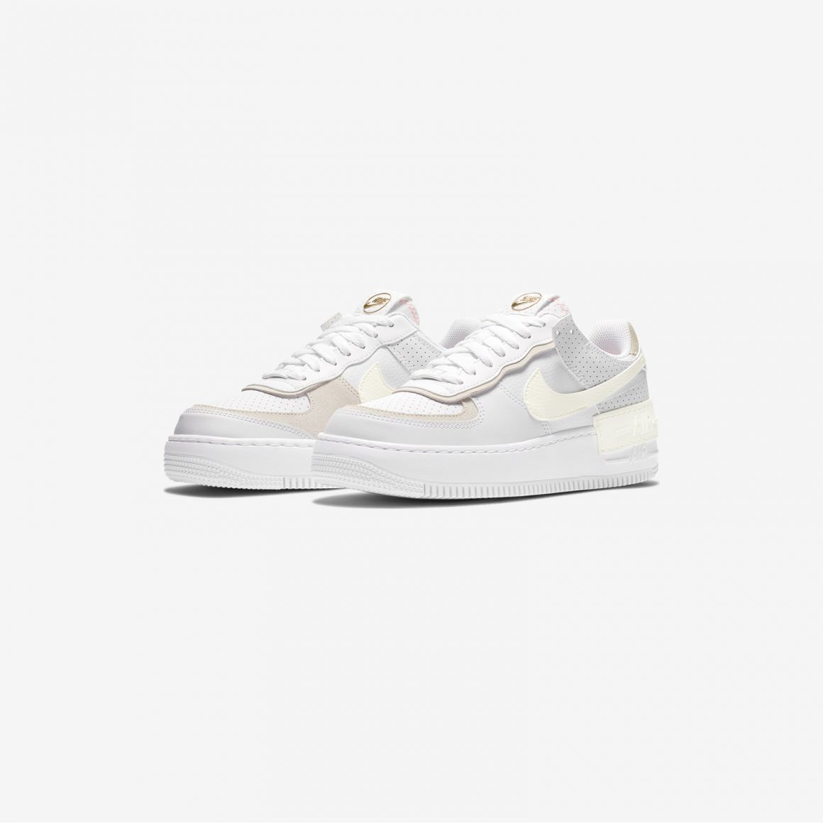 Nike WMNS Air Force 1 Shadow ''White/Sail-Stone'' - CZ8107-100