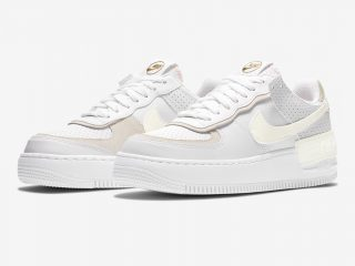 NikeWMNS Air Force 1 Shadow ''White/Sail-Stone''