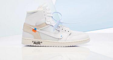 Off-WhiteAir Jordan 1 Retro High NRG ''White''