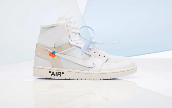 Off-White x Air Jordan 1 Retro High NRG ''White'' - AQ0818-100