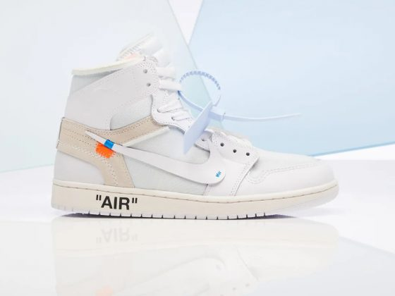 Off-White x Air Jordan 1 Retro High NRG ''White'' - AQ0818-100