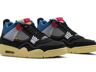 Union LAAir Jordan 4 Retro SP ''Off Noir''