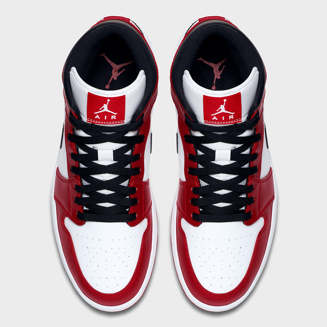 Air Jordan 1 Mid GS ''Chicago'' - 554725-173