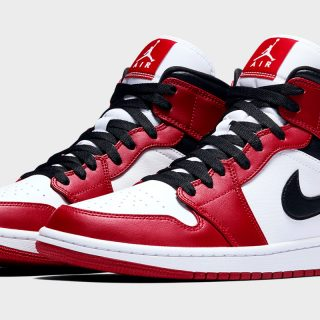 Air Jordan 1 Mid GS ''Chicago'' - 554725-173