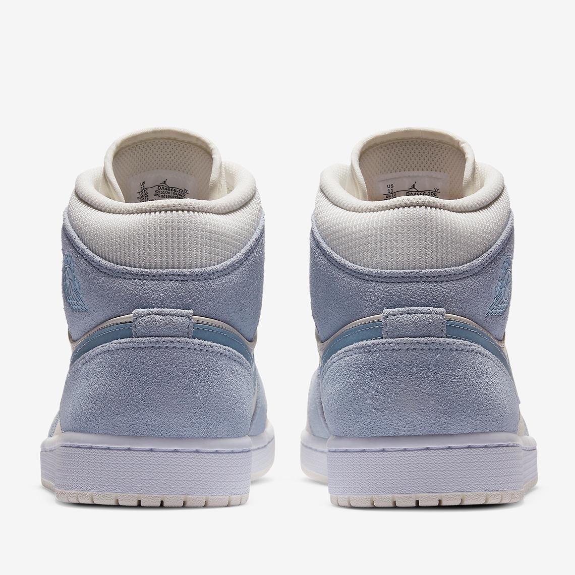 Air Jordan 1 Mid SE ''Textures Blue'' - DA4666-100