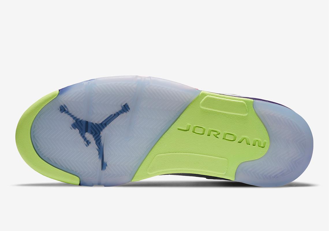 Air Jordan 5 ''Alternate Bel-Air'' - ''Ghost Green'' - DB3335-100