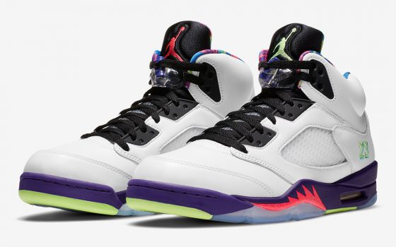 Air Jordan 5 ''Alternate Bel-Air'' - ''Ghost Green'' - DB3335-100