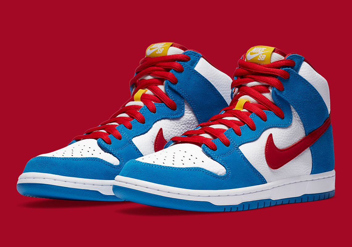 Nike SB Dunk High ''Doraemon'' - CI2692-400