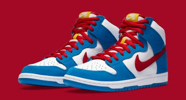 Nike SBDunk High ''Doraemon''