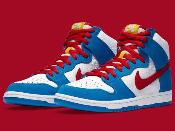 Nike SB Dunk High ''Doraemon'' - CI2692-400