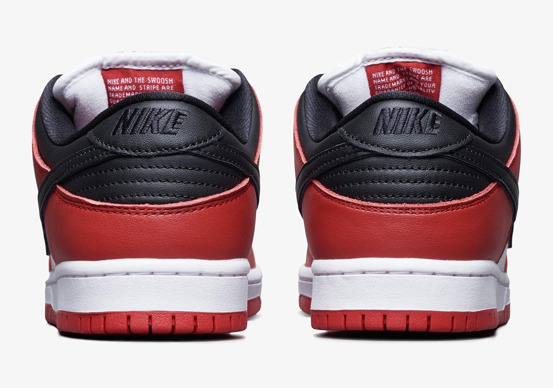 Nike SB Dunk Low Pro J-Pack ''Chicago'' - BQ6817-600