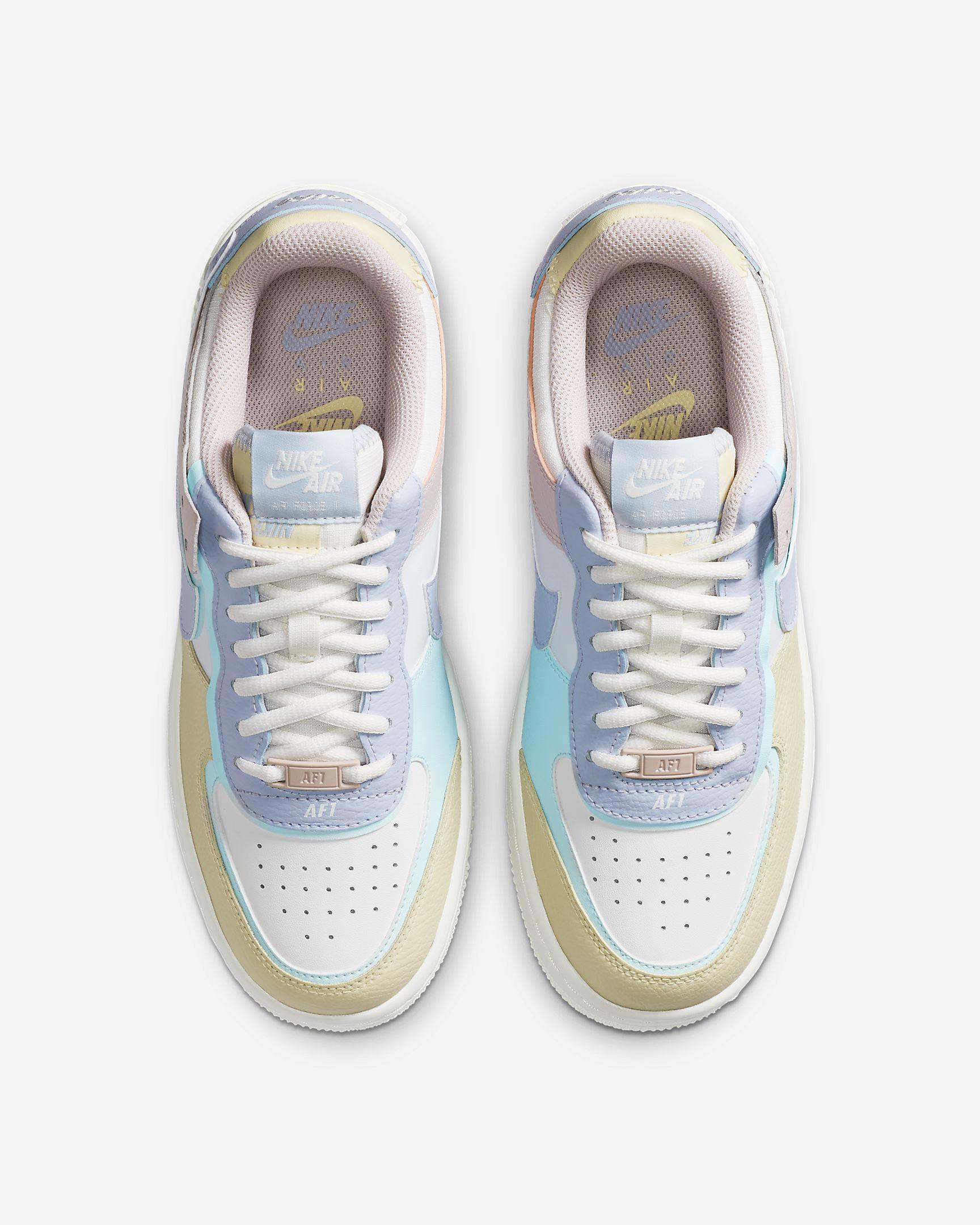 basket nike air force 1 pastel