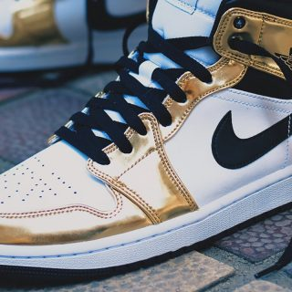 Air Jordan 1 Mid SE ''Metallic Gold'' - DC1419-700