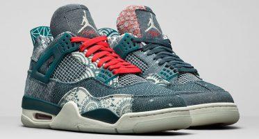 Air Jordan4 ''Sashiko''/''Deep Ocean''