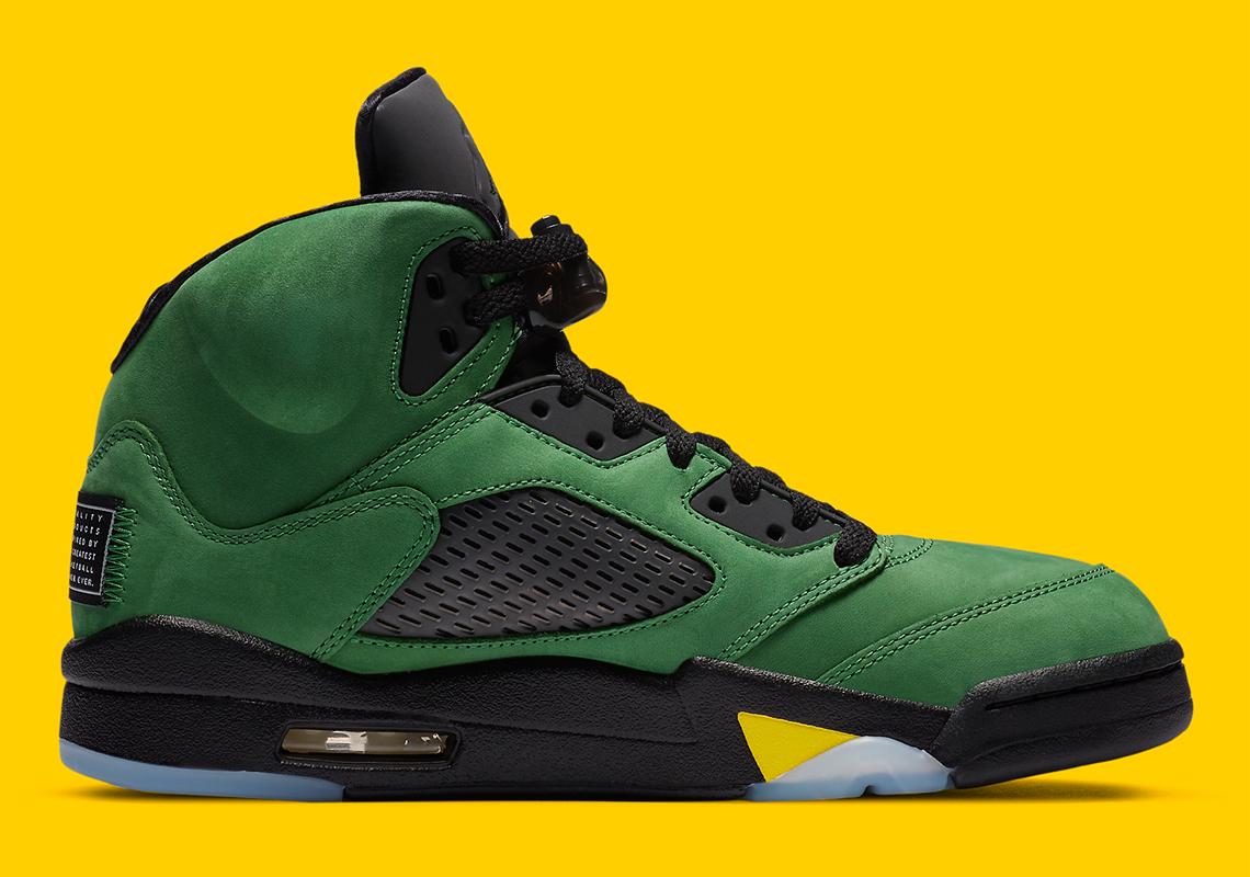 Air Jordan 5 ''Apple Green'' - CK6631-307