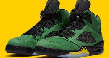Air Jordan5 ''Apple Green'' - ''Oregon''