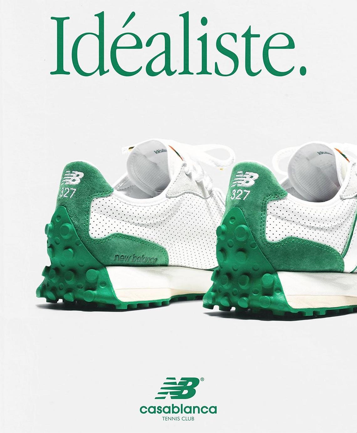 Casablanca x New Balance 327 ''Idéaliste'' - ''Green'' - MS327CBD