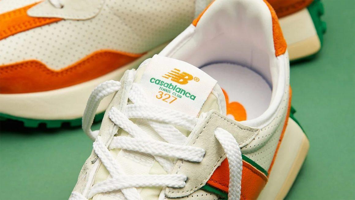 Casablanca x New Balance 327 ''Idéaliste'' - ''Orange'' - MS327CBB