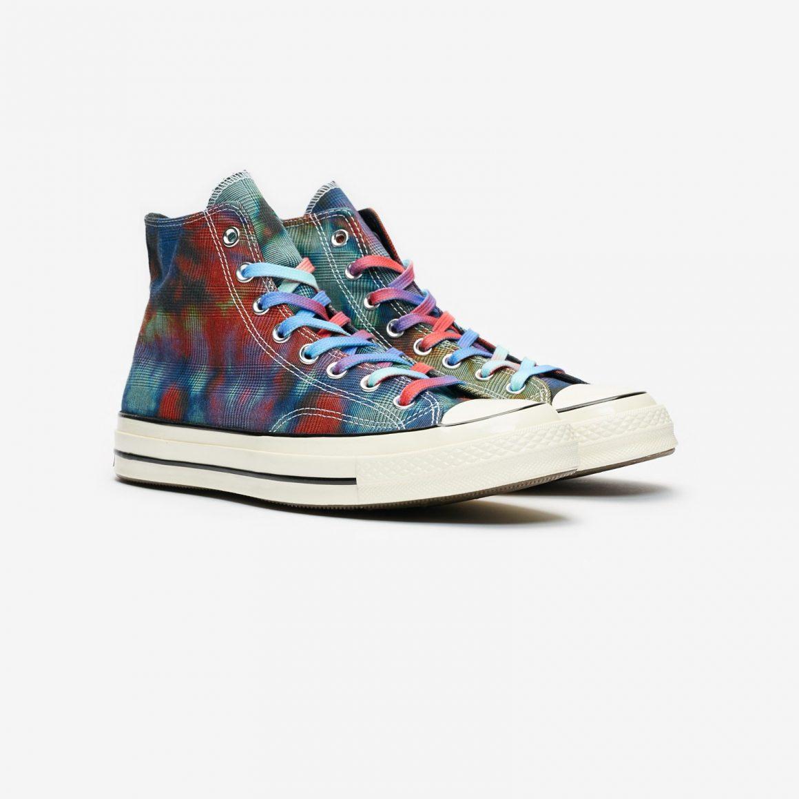 Converse Chuck 70 Hi ''Tie Dye Plaid'' - 168752C
