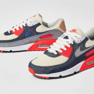 DENHAM x Nike Air Max 90 ''Infrared'' - CW7603-400