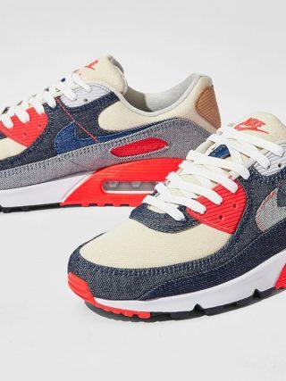 DENHAM x Nike Air Max 90 ''Infrared'' - CW7603-400