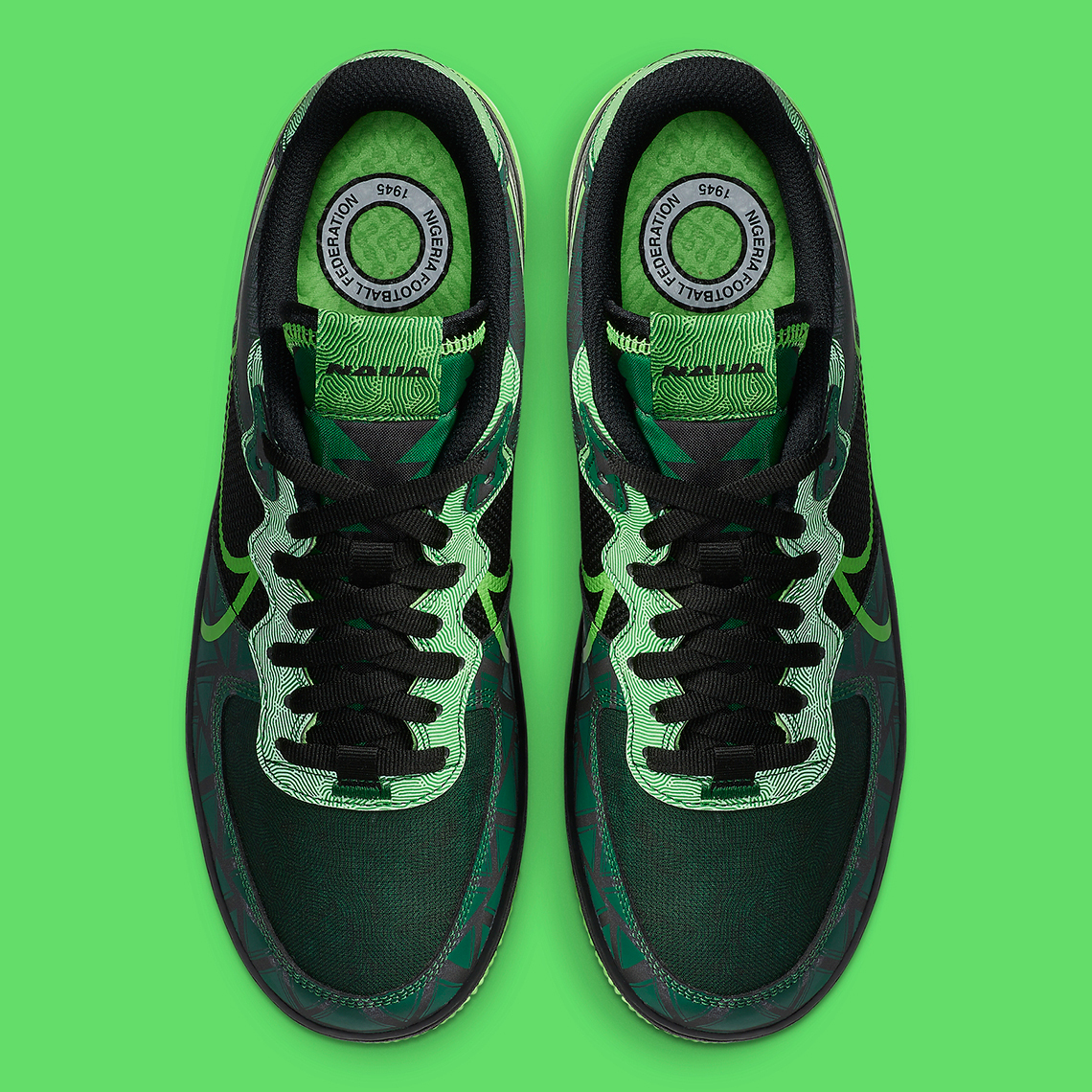 Nike Air Force 1 React ''Naija'' - CW3918-001