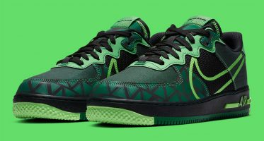 "NikeAir Force 1 React ""Naija"""