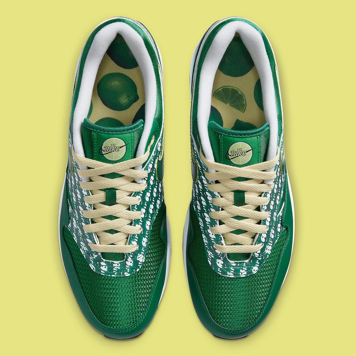 Nike Air Max 1 Powerwall ''Limeade'' - CJ0609-300