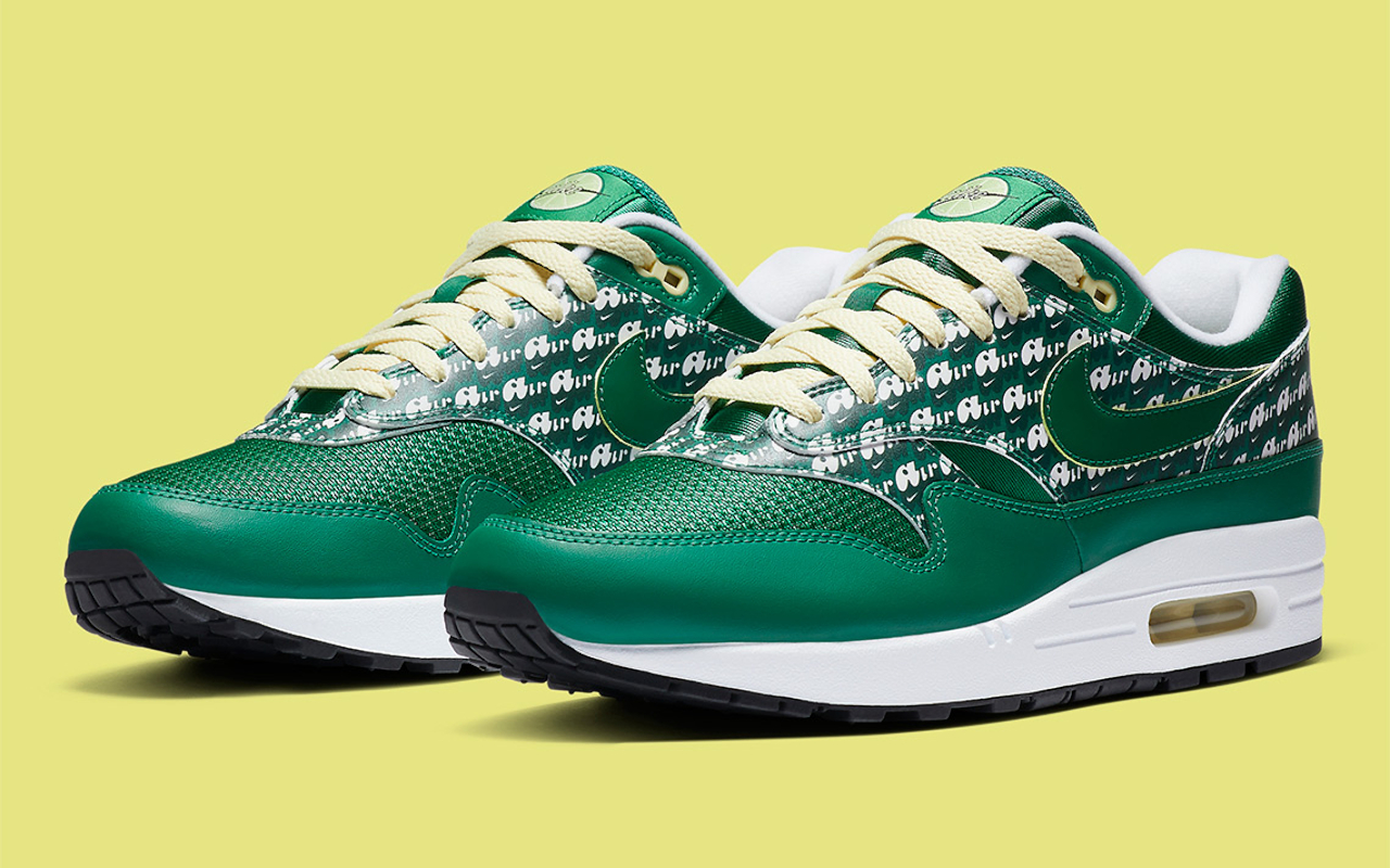Nike Air Max 1 Powerwall ''Limeade'' - CJ0609-300 - Sneaker Style