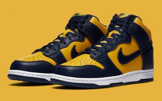 Nike Dunk High ''Michigan'' - CZ8149-700