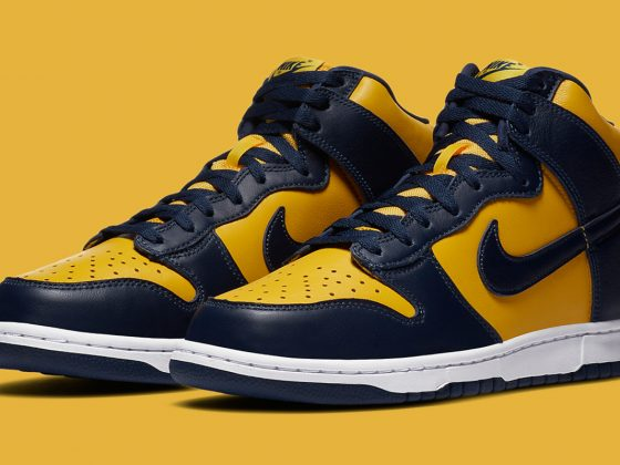 Nike Dunk High ''Michigan'' - CZ8149-700