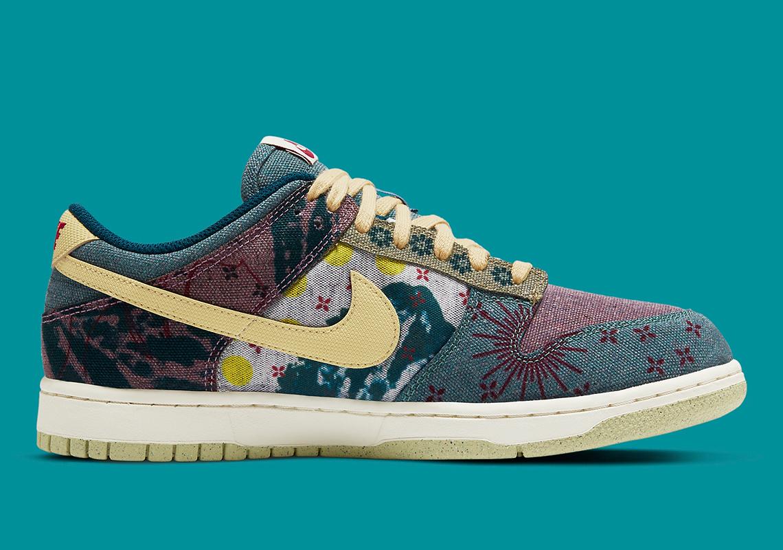 Nike Dunk Low SP ''Lemon Wash''/''Community Garden'' - CZ9747-900