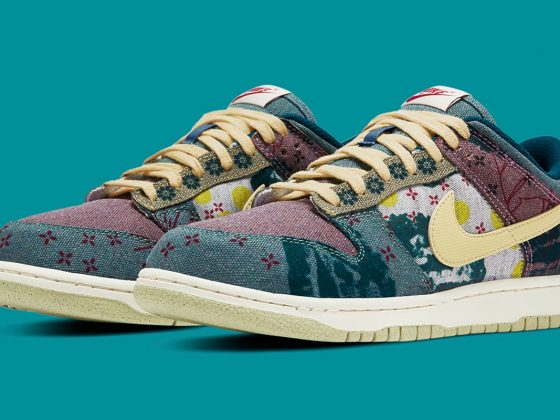 Nike Dunk Low SP ''Lemon Wash''/''Community Garden'' - CZ9747-900