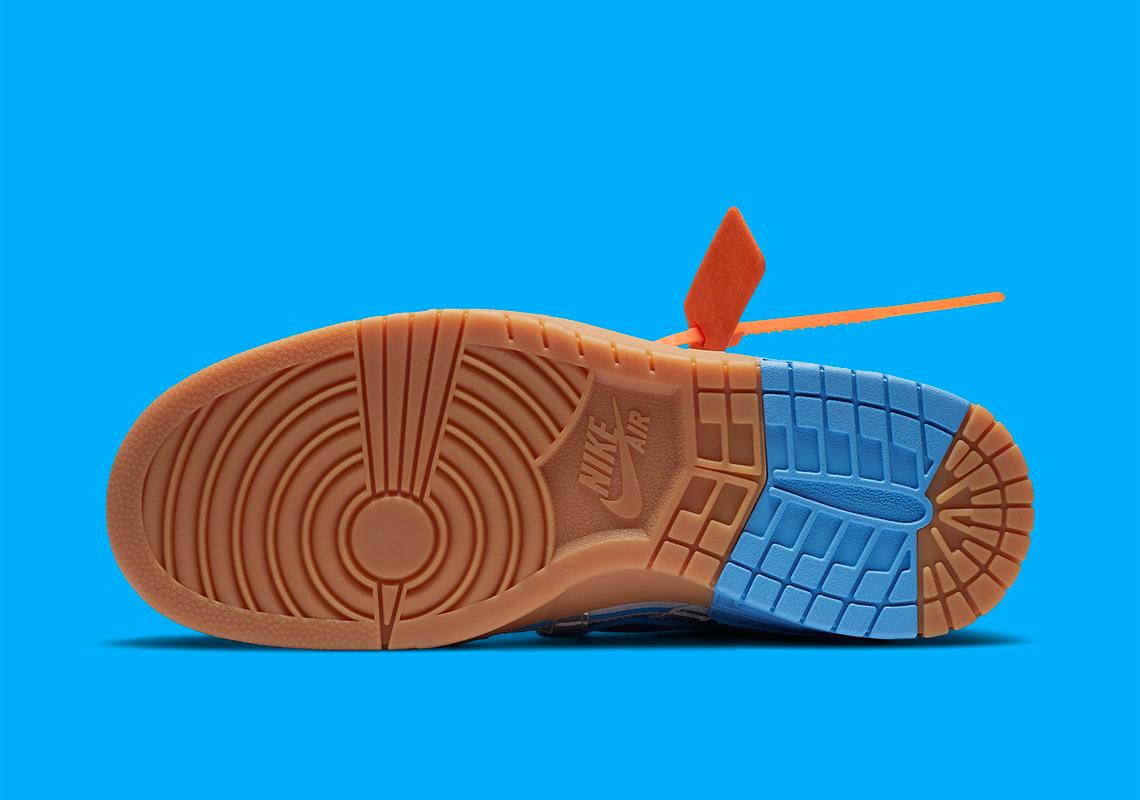 Off-White x Nike Air Rubber Dunk ''University Blue'' - CU6015-100
